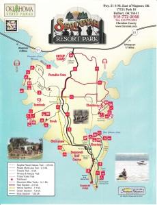 Sequoyah State Park Map-1 copy